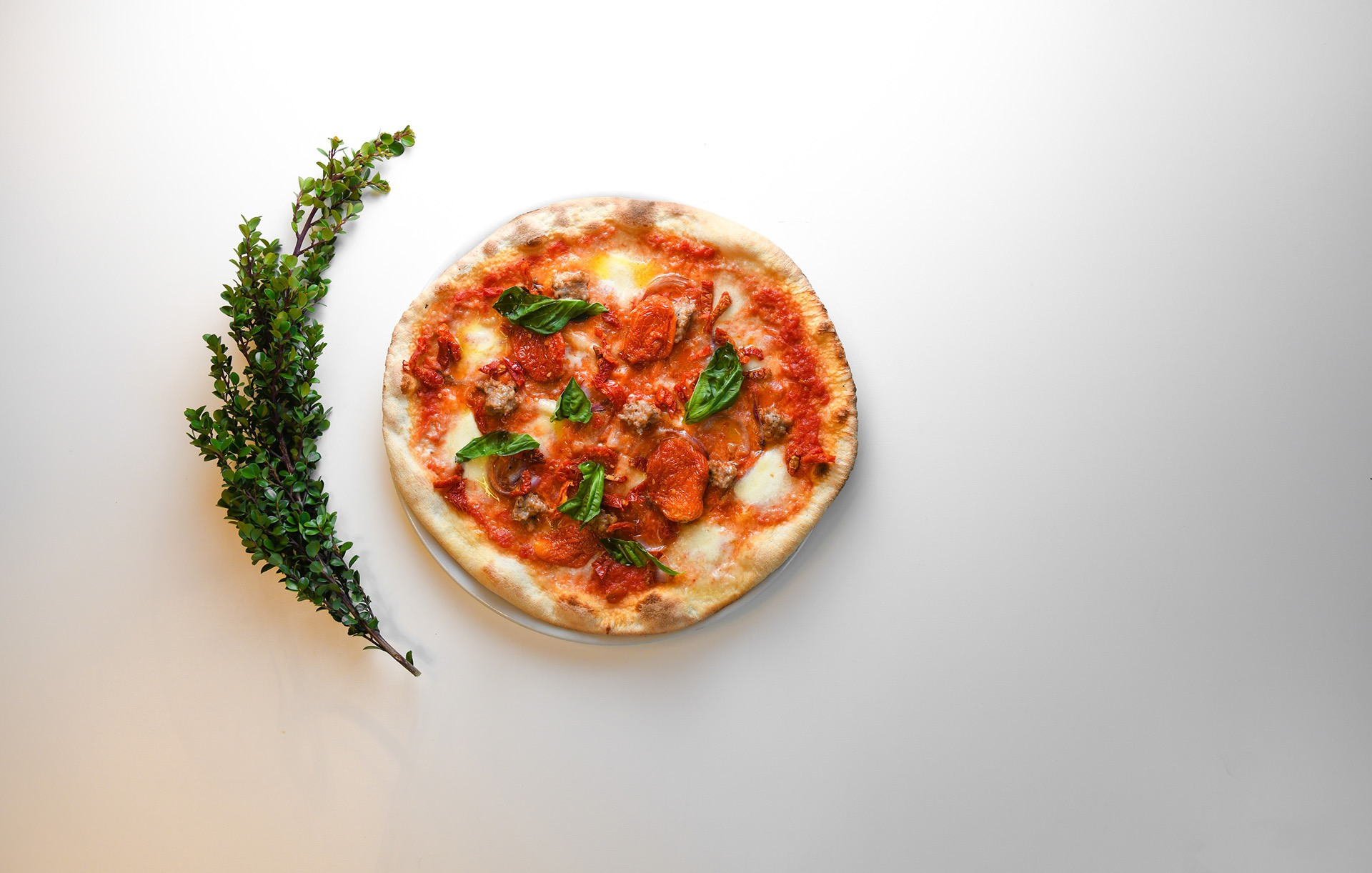 milanese-style pizza